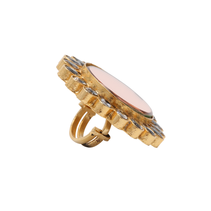 Tinted Mirror Ring - The Pink Bazaar