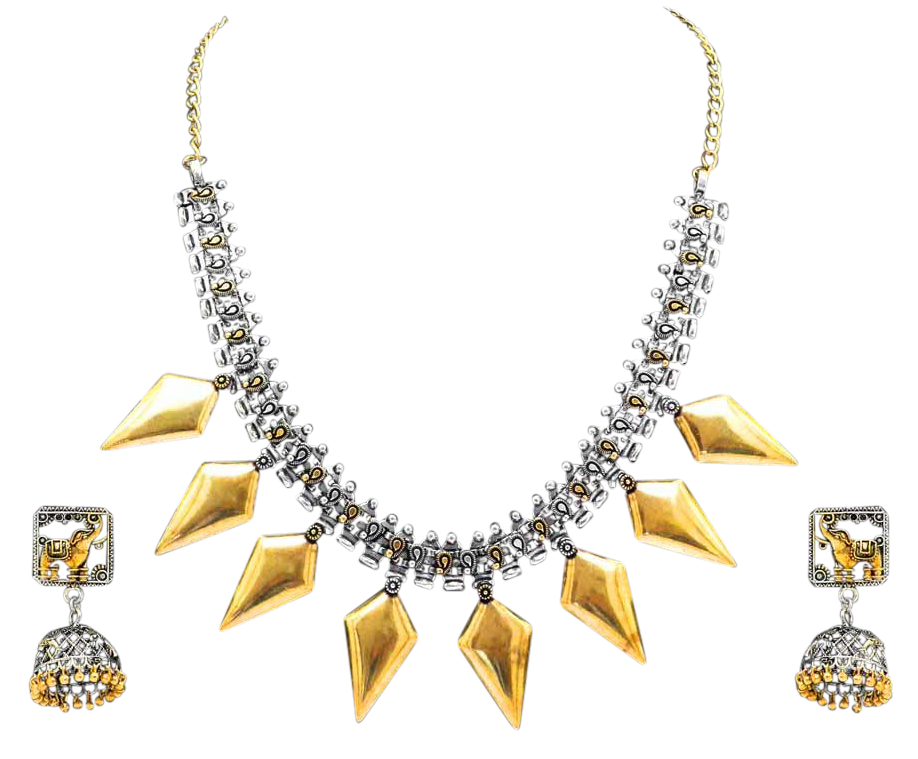Anamika Necklace Set - The Pink Bazaar