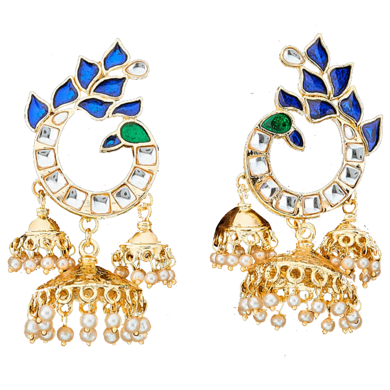 Shani Earrings - The Pink Bazaar