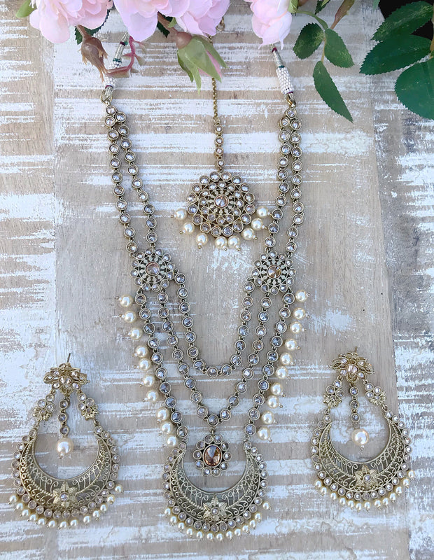 Salina Necklace Set - The Pink Bazaar