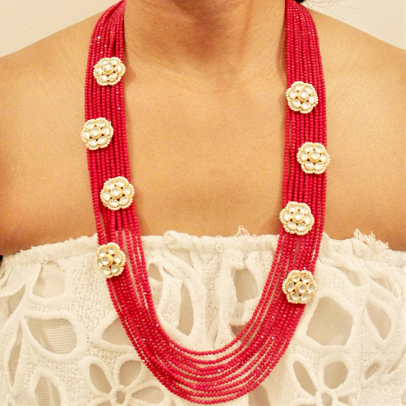 Lali Necklace Set - The Pink Bazaar