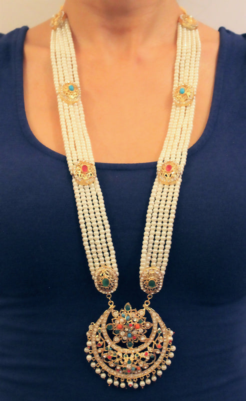 Niti Necklace Set - The Pink Bazaar
