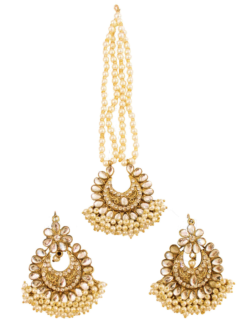 Preeto Earring and Tikka Set