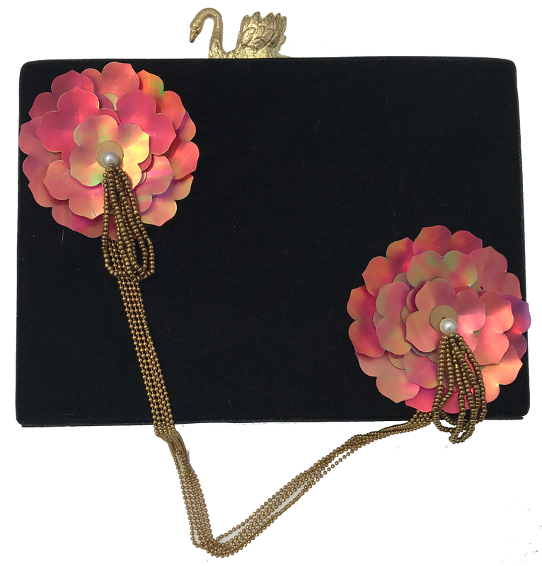 Flower Clutch - The Pink Bazaar