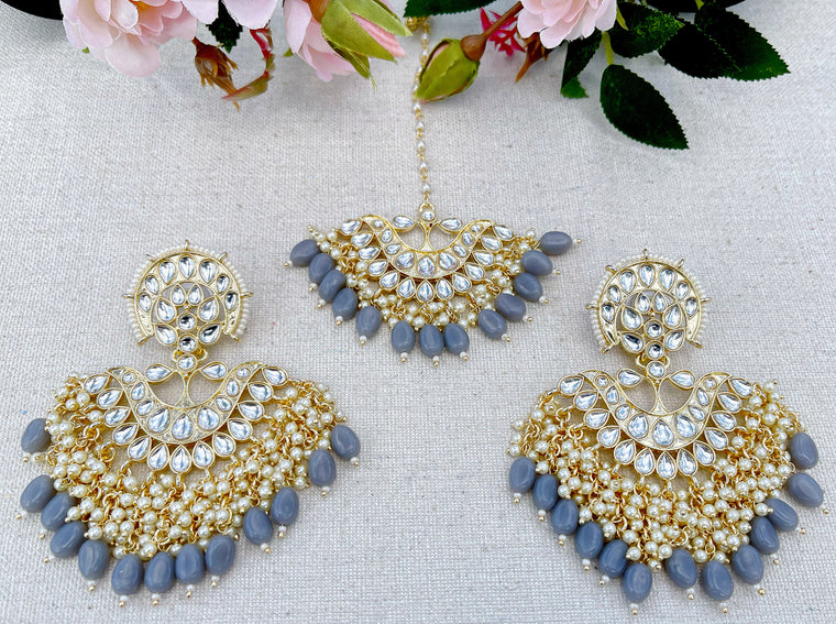 Sonia Earring and Tikka Set