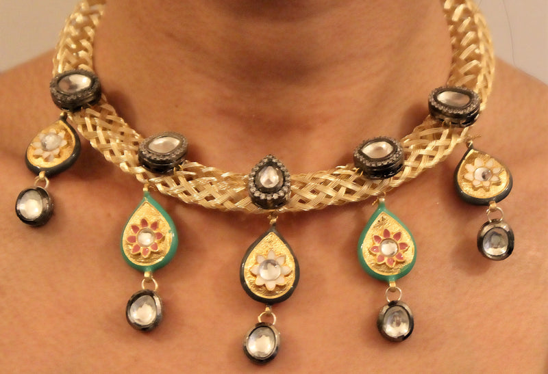 Parisha Necklace - The Pink Bazaar
