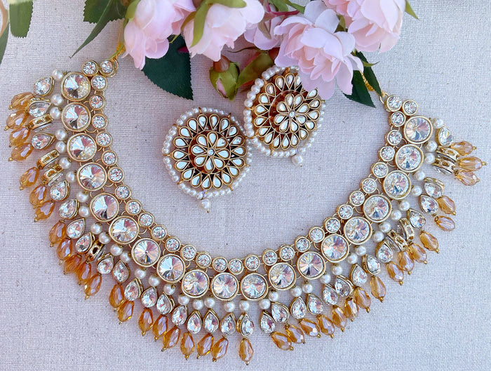 Kate Necklace Set - The Pink Bazaar