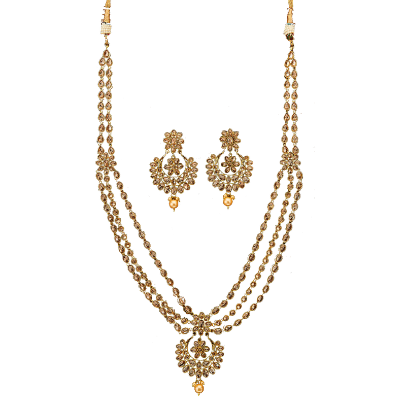 Sheena Necklace Set - The Pink Bazaar