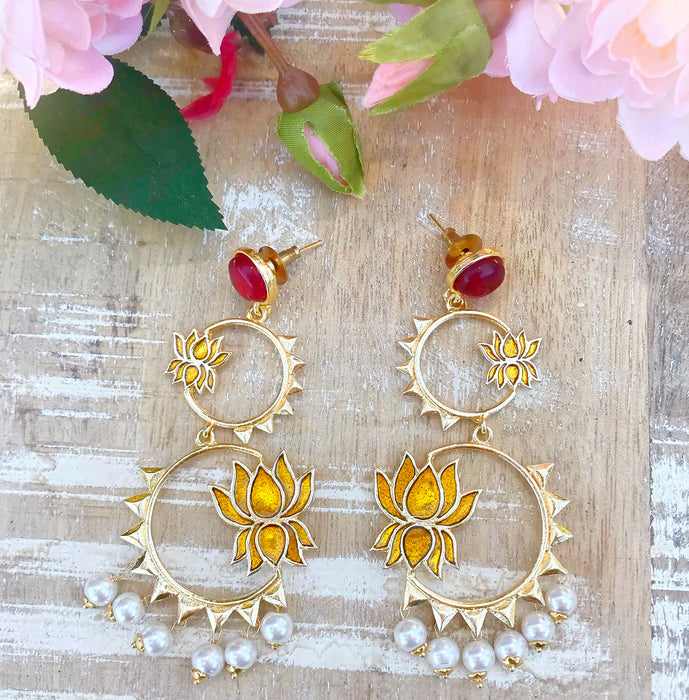 Lara Earrings - The Pink Bazaar