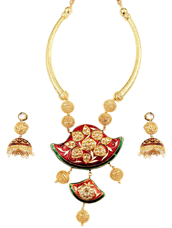 Jashan Necklace Set - The Pink Bazaar