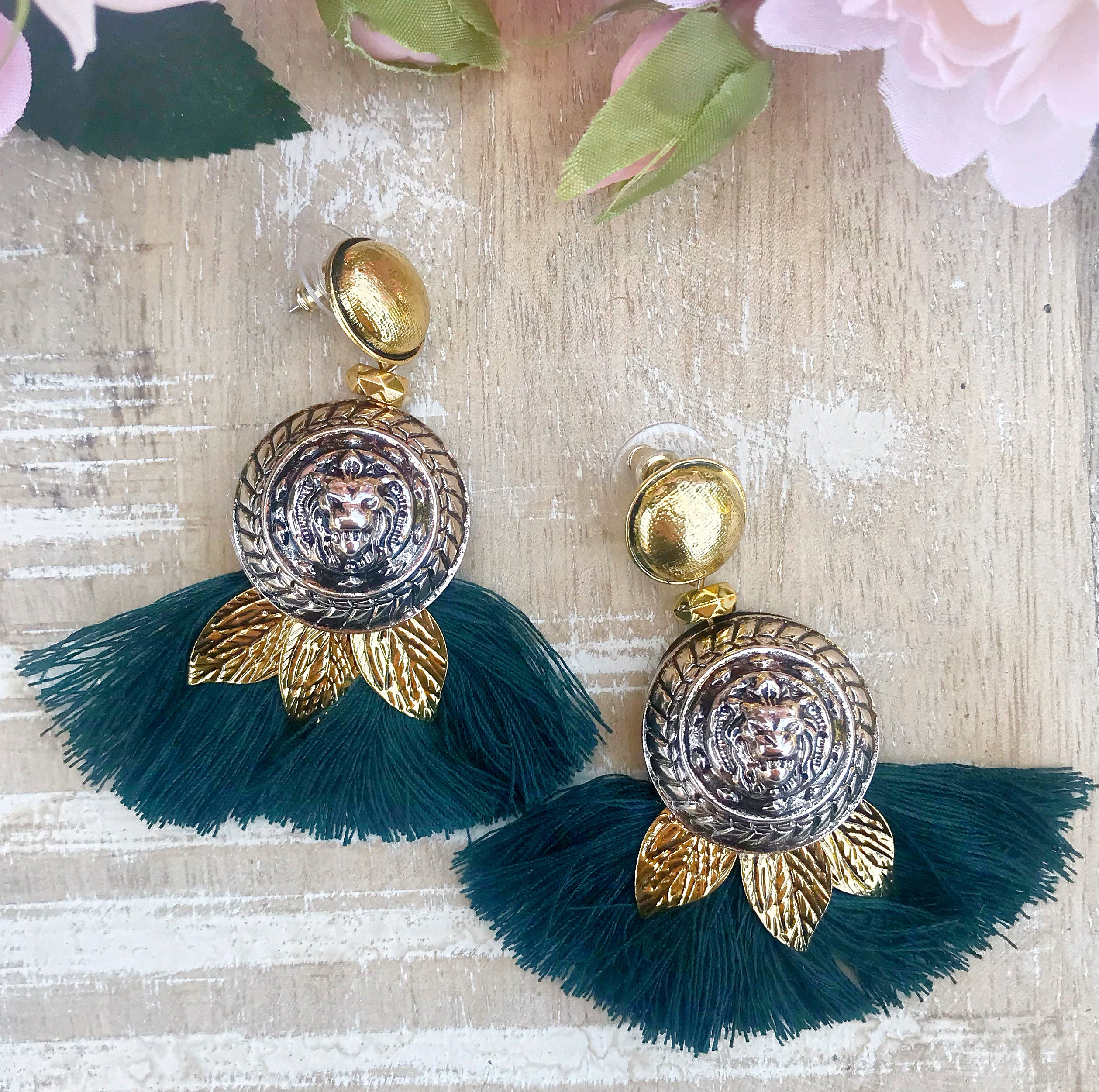 Tunisha Earrings - The Pink Bazaar