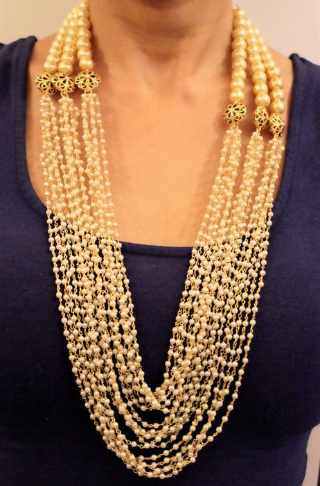 Boondi Necklace Set - The Pink Bazaar