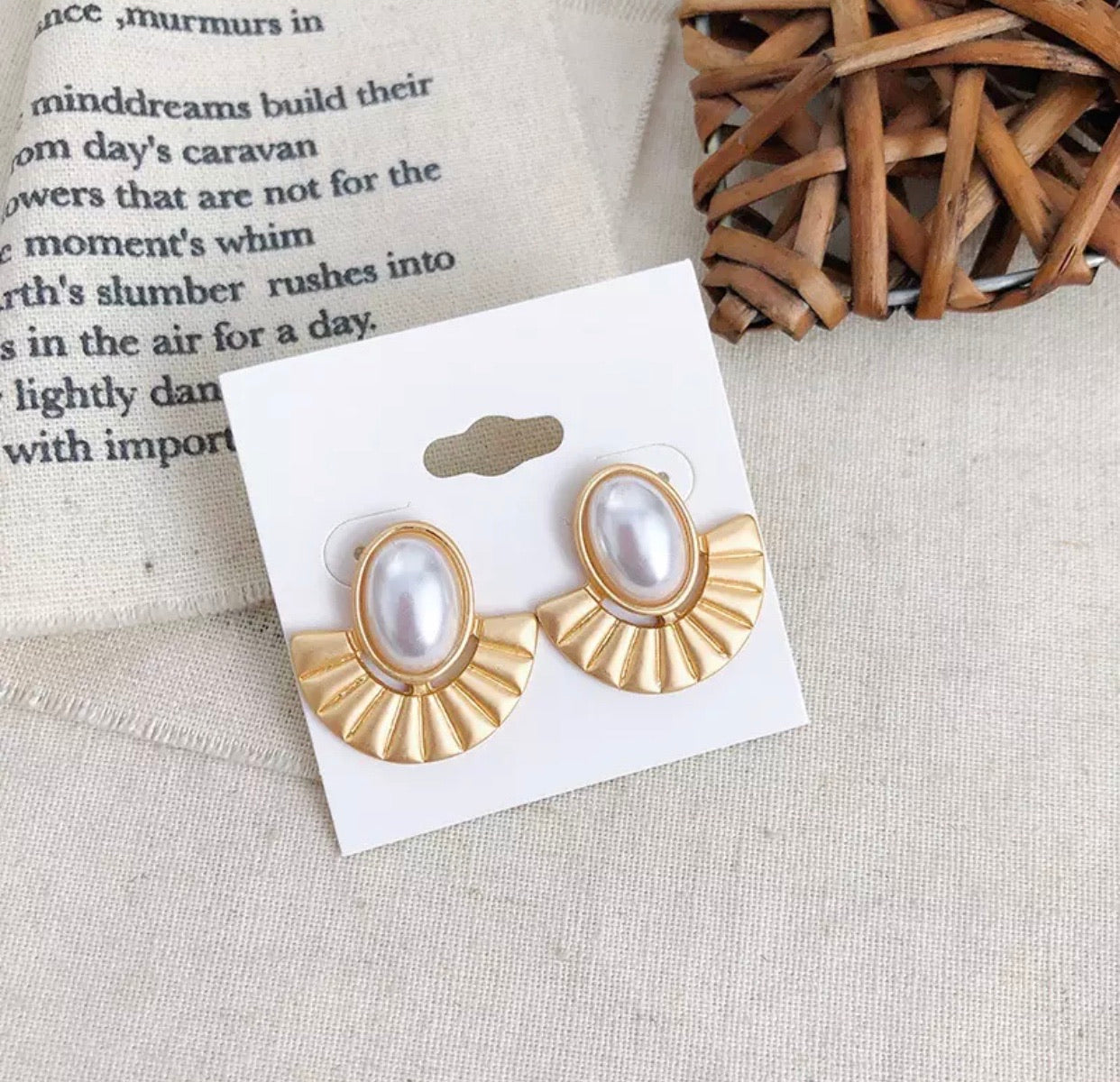 Vanessa Earrings - The Pink Bazaar
