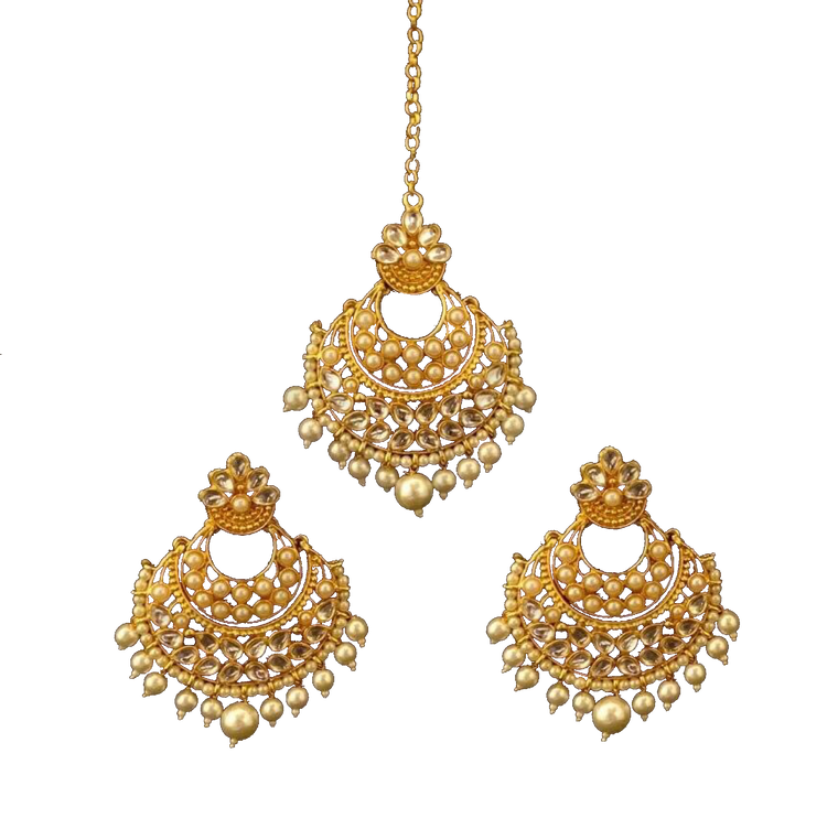 Adina Earring and Tikka Set