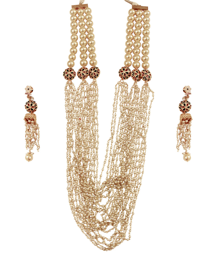 Boondi Necklace Set