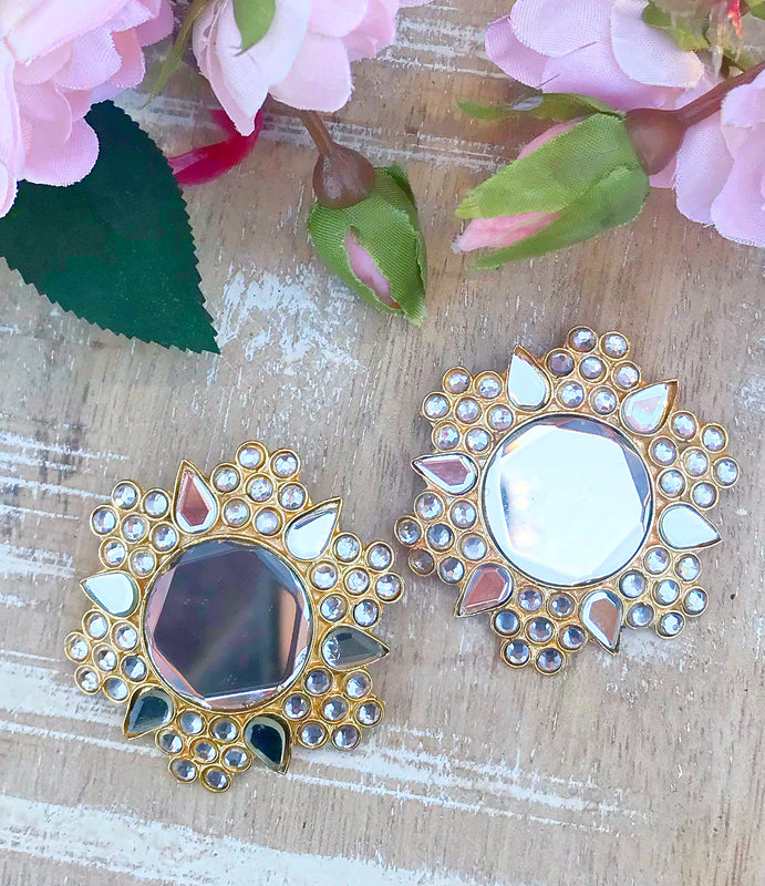 Sheesha Earrings - The Pink Bazaar