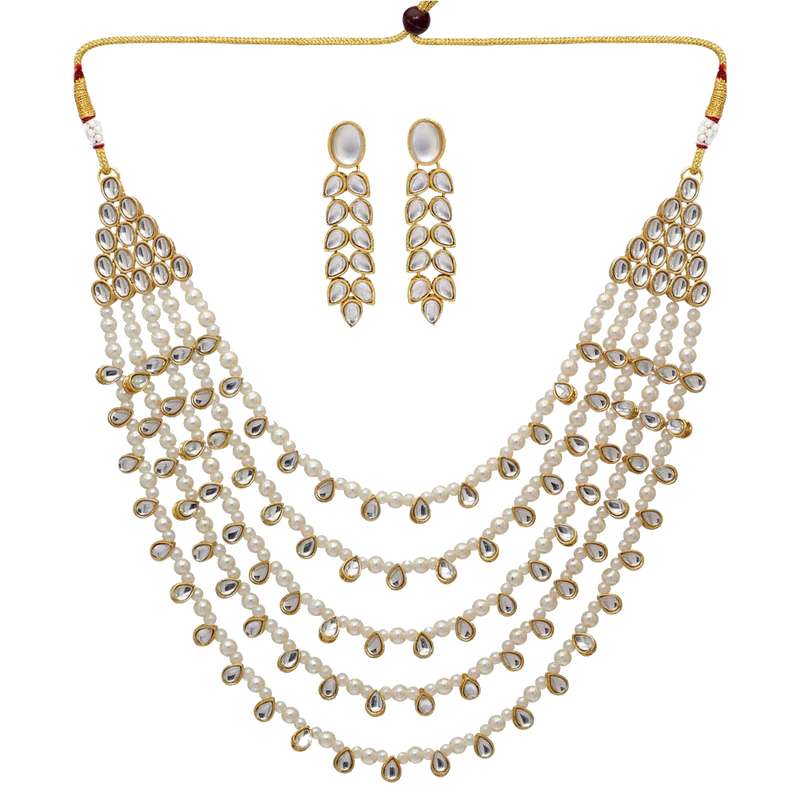 Priya Necklace Set - The Pink Bazaar