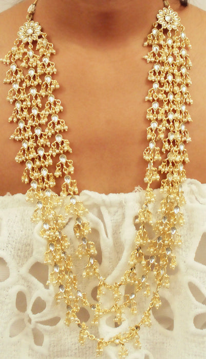Priam Necklace Set - The Pink Bazaar