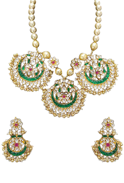 Garden Necklace Set - The Pink Bazaar