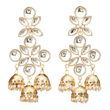 Aarti Earrings - The Pink Bazaar