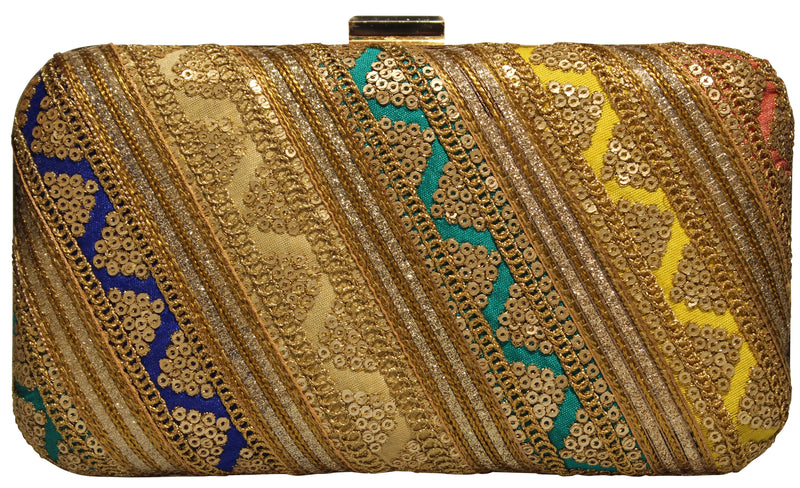 Rangeela Clutch - The Pink Bazaar