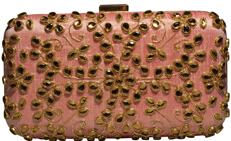 Rosi Clutch - The Pink Bazaar