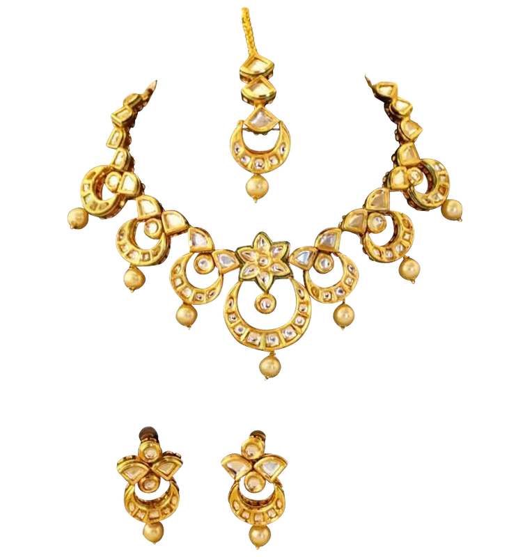 Juhi Necklace Set - The Pink Bazaar