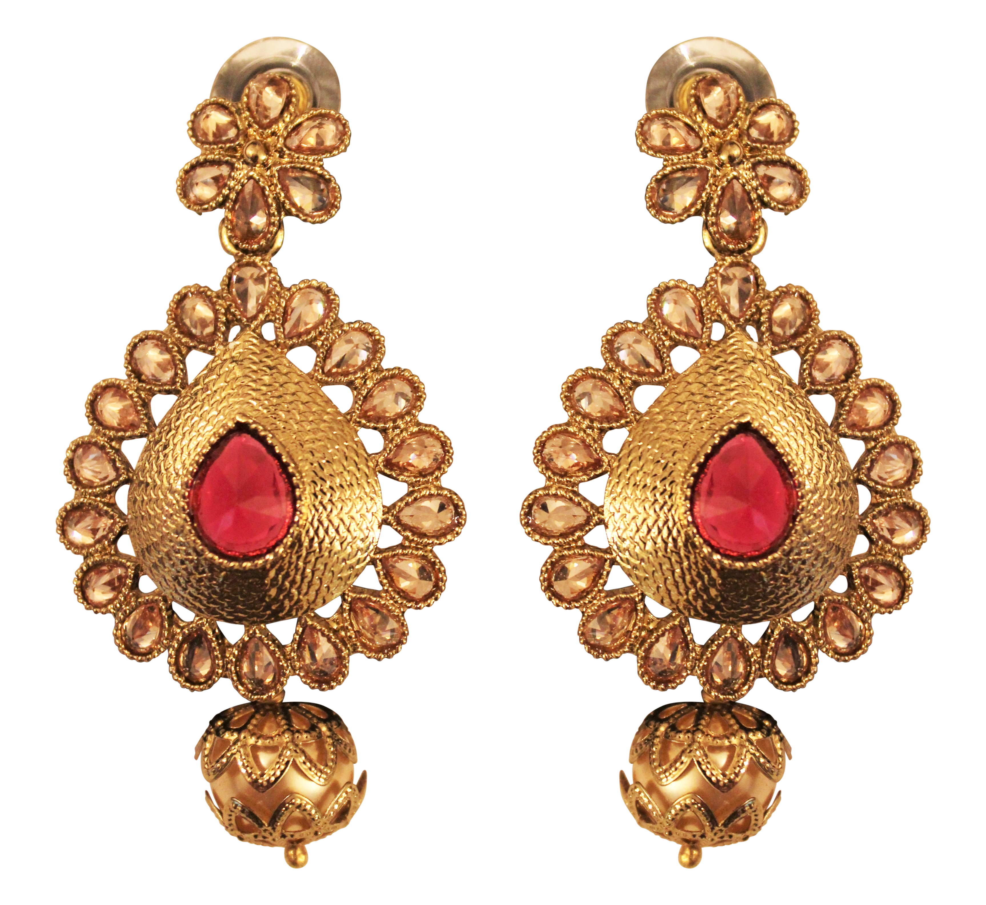 Madhu Earrings - The Pink Bazaar