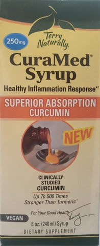 Terry Naturally CuraMed® Syrup 250 mg 8 oz