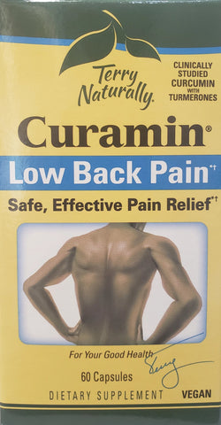 Terry Naturally Curamin® Low Back Pain*†  60 Capsules