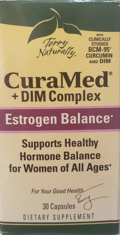 Terry Naturally CuraMed® + DIM Complex  30 softgels