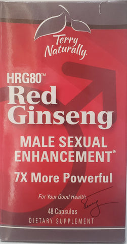 Terry Naturally Red Ginseng Male Sexual Enhancement