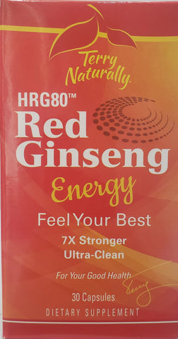 Terry Naturally Red Ginseng Energy