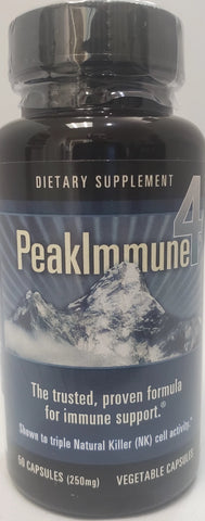 PeakImmune4  50 Vegetable Capsules