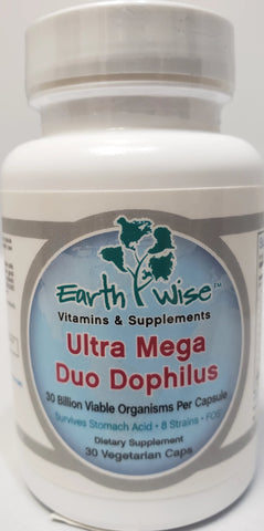 Earthwise Ultra Mega Duo Dophilus  30 Billion