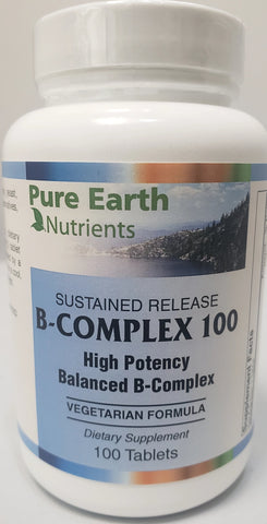 Pure Earth Nutrients B-Complex 100