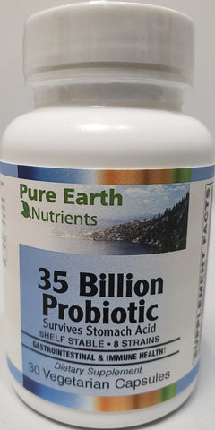 Pure Earth Nutrients 35 Billion Probiotic