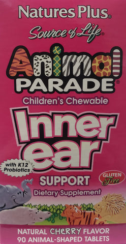 Animal Parade Children's Chewable Inner Ear support