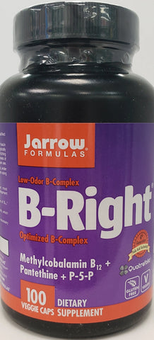 Jarrow B-Right 100 veggie caps
