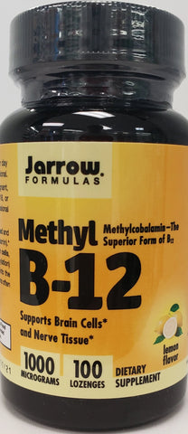Jarrow Methyl B-12 1000 mcg  100 lozenges