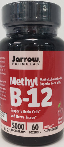 Jarrow Methyl B-12 5000 mcg  60 lozenges