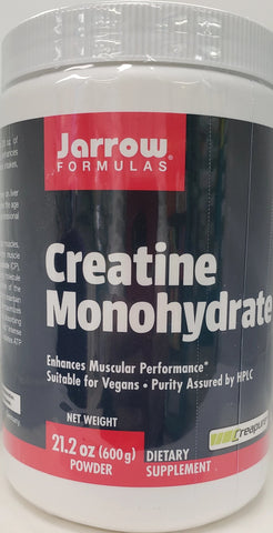 Jarrow Creatine Monohydrate Powder  600 grams