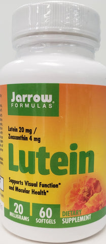 Jarrow Lutein 20 mg  60 softgels
