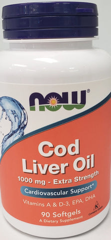 Now Cod Liver Oil  90 softgels