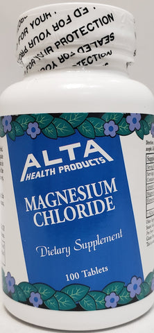 Alta Health Magnesium Chloride  100 Tablets