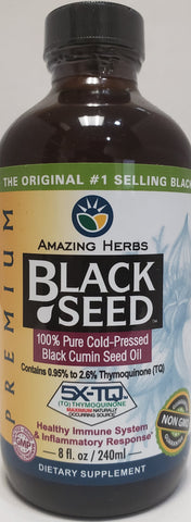 Amazing Herbs Black Seed  Oil  8 fl oz