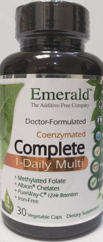 Emerald Labs™ CoEnzymated Complete 1-Daily Multi