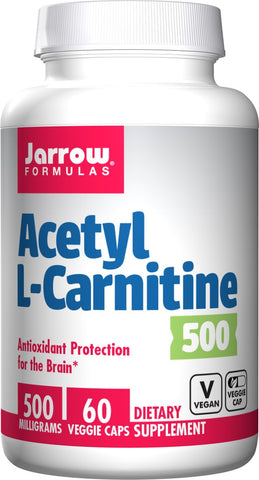 Jarrow Acetyl L-Carnitine 500 mg