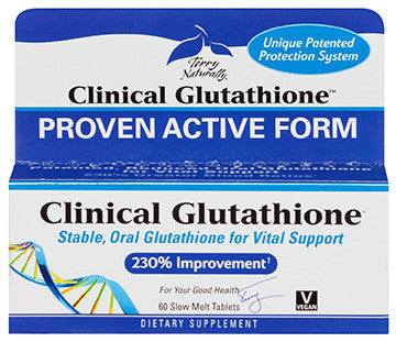 Terry Naturally Clinical Glutathione™  60 Slow Melt Tablets