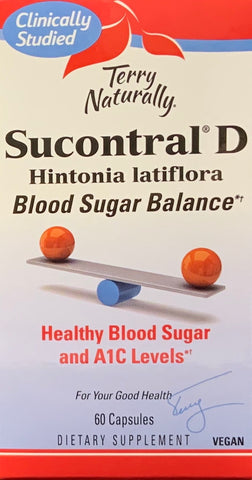 Terry Naturally Sucontral® D Blood Sugar Balance